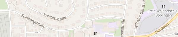 Karte Eichendorff-Schule Böblingen