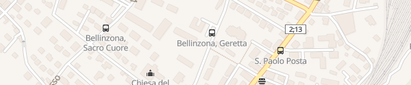 Karte Parco Gerretta Bellinzona