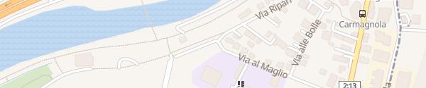 Karte Scuola media Bellinzona 2 Bellinzona