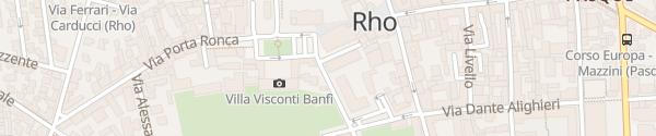 Karte Enel Drive Säule Rho