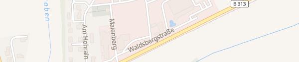 Karte Elektro Muffler Sauldorf-Krumbach