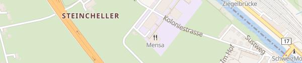 Karte Berufsschule Ziegelbrücke