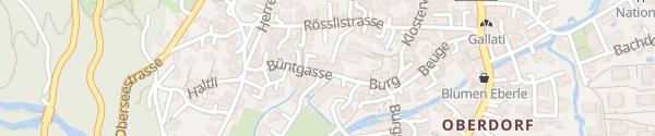 Karte Technische Betriebe Glarus Nord Näfels