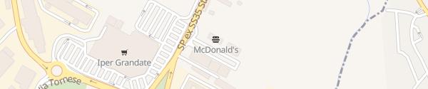 Karte McDonald's Grandate