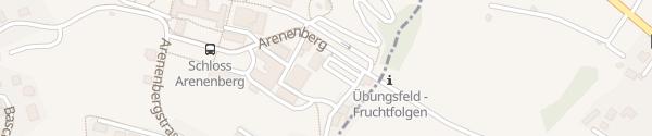 Karte Parkplatz Arenenberg Süd Salenstein