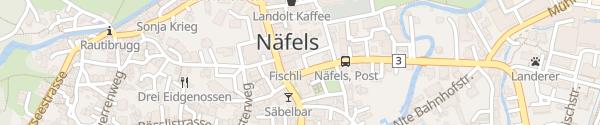 Karte Tolderhaus Näfels