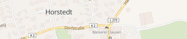 Karte Gemeindehaus Horstedt