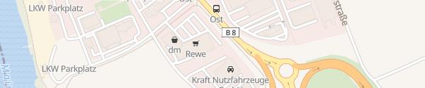 Karte REWE Rösel Kleinostheim