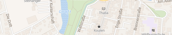 Karte Parkplatz Wallstraße Rinteln