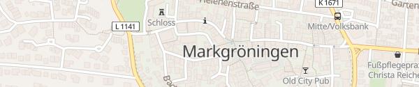 Karte E-Bike Ladesäule Schloßgasse Markgröningen