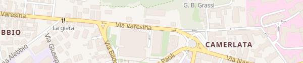 Karte Esselunga della Ca' Merlata Como