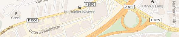 Karte BMW Niederlassung Stuttgart