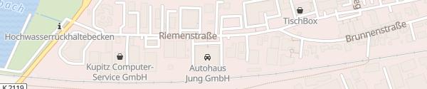 Karte asw Automobile Bad Rappenau