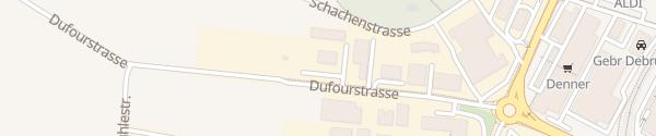 Karte Verkehrssicherheitszentrum Weinfelden