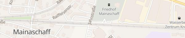 Karte SÜWAG Ladesäule Mainaschaff