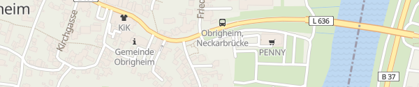 Karte Auweg Obrigheim