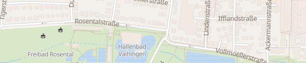 Karte Rosental Stuttgart