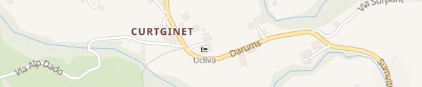 Karte Hotel Ucliva Waltensburg/Vuorz