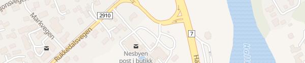 Karte Shell Nesbyen
