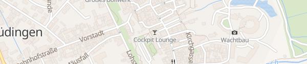 Karte E-Bike Ladesäule Marktplatz Büdingen