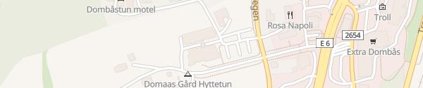 Karte Dombås Hotell Dombås