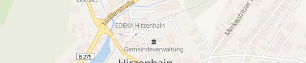 Karte Gemeindeverwaltung Hirzenhain