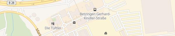 Karte Technologiepark Tübingen-Reutlingen Kusterdingen