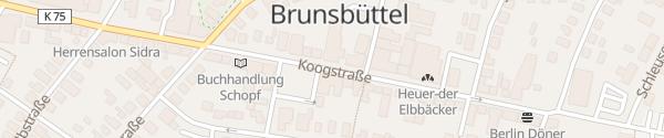 Karte Rathaus Brunsbüttel