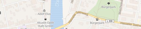 Karte Rathaus Hoya