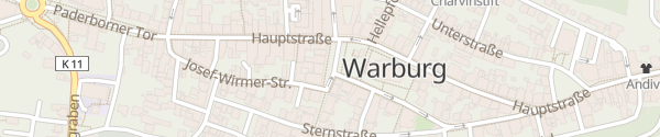 Karte Marktplatz Warburg