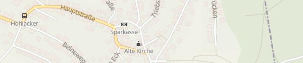 Karte Gemeindeamt Glattbach