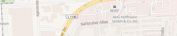 Karte Noz Elektrotechnik Ludwigsburg-Pflugfelden