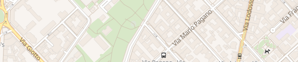 Karte Via Alberto Da Giussano Milano