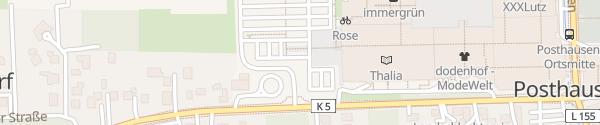 Karte Einkaufcenter Dodenhof Posthausen