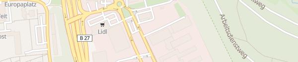 Karte EnBW Ladepark Stuttgart