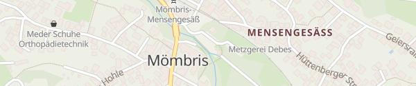 Karte Ölmühlenparkplatz Mömbris
