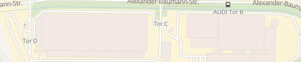 Karte Besucherparkplatz Audi Werk Böllinger Höfe Tor C Heilbronn