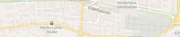 Karte Parkhotel Stuttgart Messe-Airport Leinfelden-Echterdingen