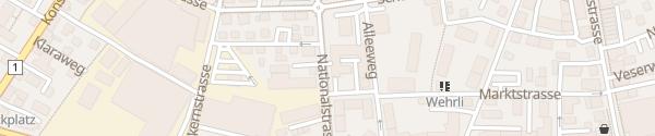 Karte Technische Betriebe Kreuzlingen