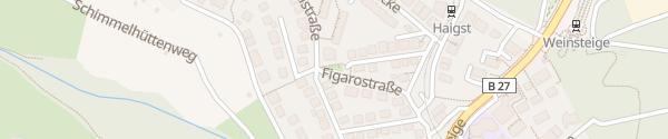 Karte Figarostraße Stuttgart
