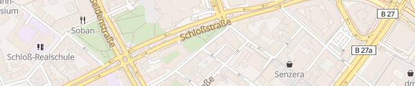Karte Leuschnerstraße Stuttgart