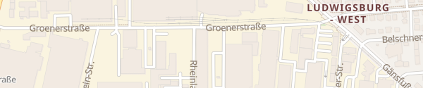 Karte Werkzentrum Weststadt Ludwigsburg