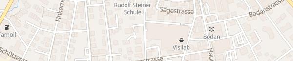 Karte Einkaufszentrum Karussell Kreuzlingen