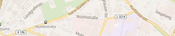 Karte Autohaus Ostmann Wolfhagen