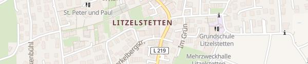 Karte Ko'Ono Hotel & Restaurant Konstanz