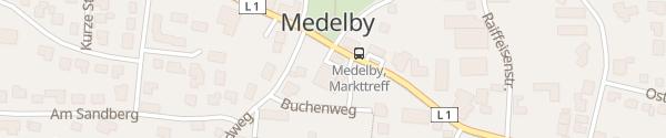 Karte Edeka Medelby