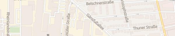 Karte Stadtwerke Schnelllader Ludwigsburg