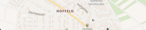 Karte Hoffeldstraße Stuttgart