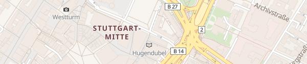 Karte Dorotheenstraße Stuttgart