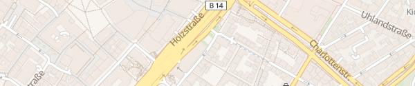 Karte Esslinger Straße Stuttgart